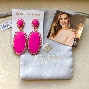 Kendra Scott Magenta Parsons Earrings